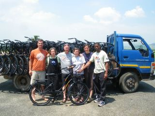 Swaziland BikeTown Team